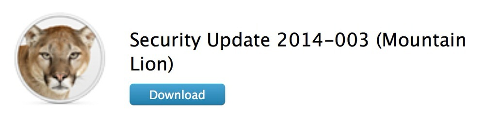 Apple、Lion、Mountain Lionユーザー向けに「Security Update 2014-003」リリース