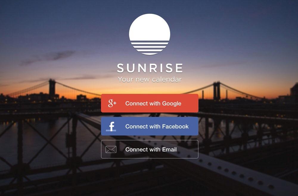 Googleカレンダー、Facebookなどご同期可能のMac向けカレンダーアプリ「Sunrise Calendar」