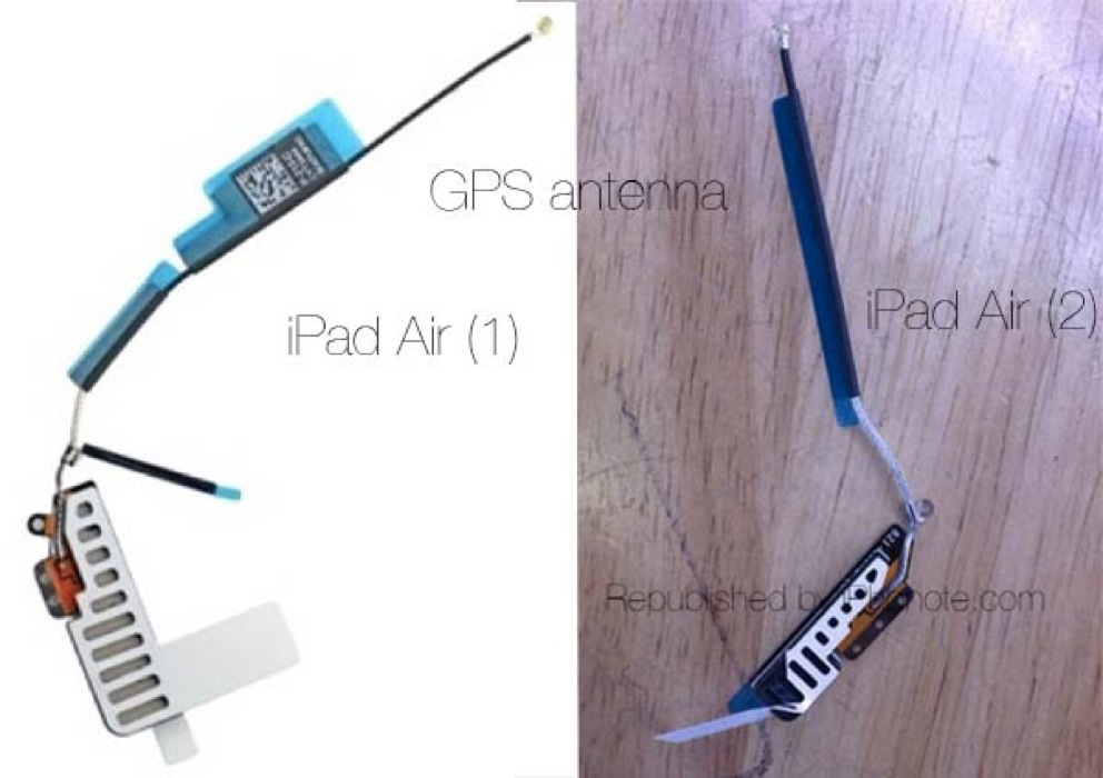 Antenne gps ipad air 2