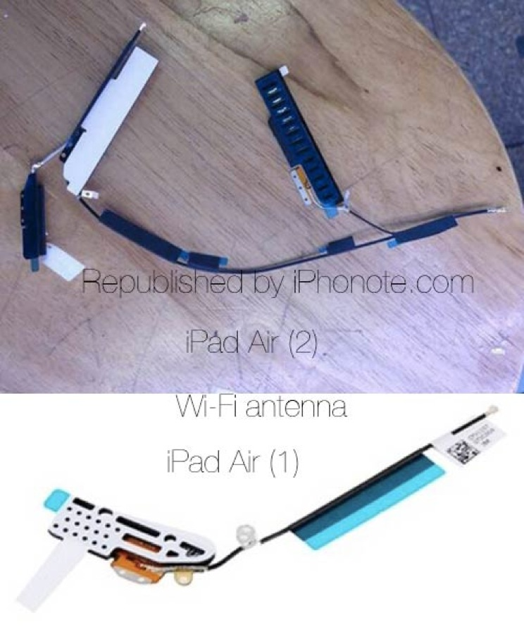 Antenne wi fi ipad air 2 1