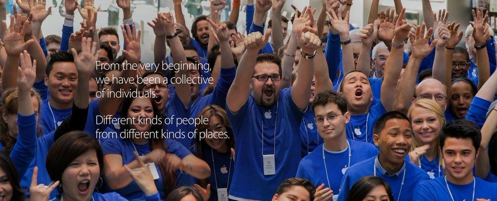 Apple、従業員の多様性に関する報告書を公開