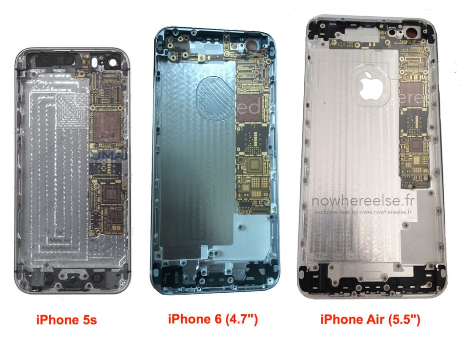 Iphone 5s vs iphone 6 vs iphone air 1