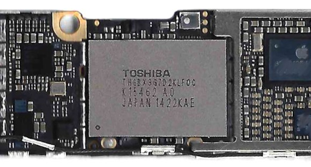 Iphone 6 nand flash 1
