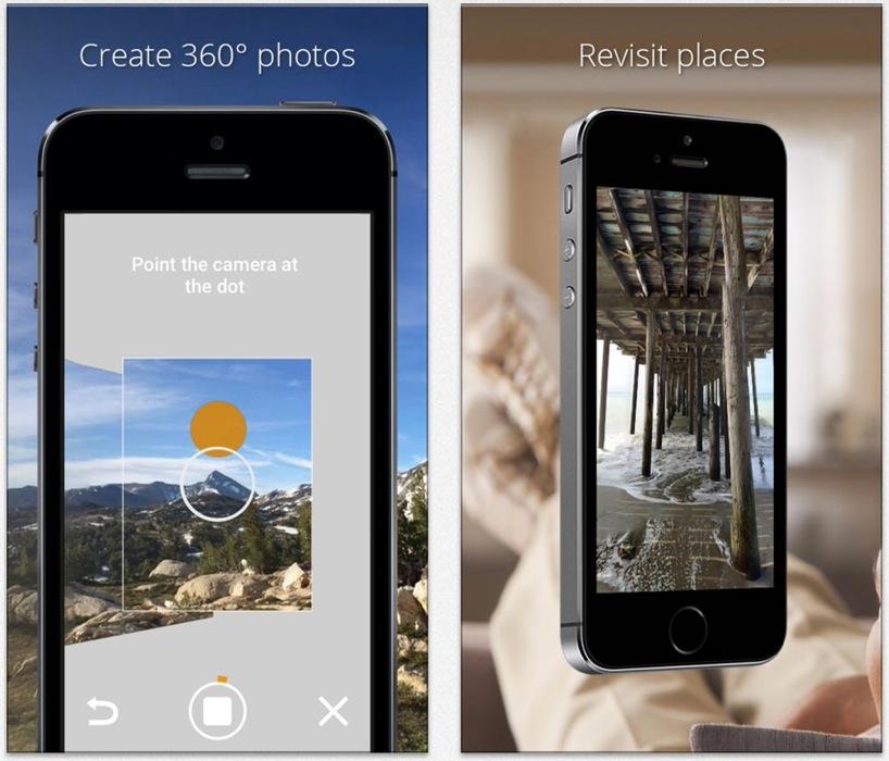 Google、上下左右ぐるっと見回すことができる360度の画像を作成できる「Photo Sphere Camera」リリース