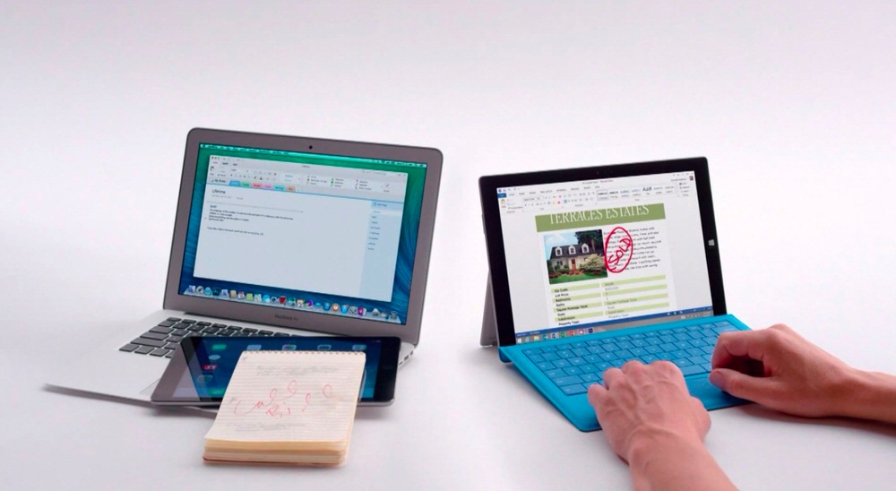 Surfacepro3macbookair