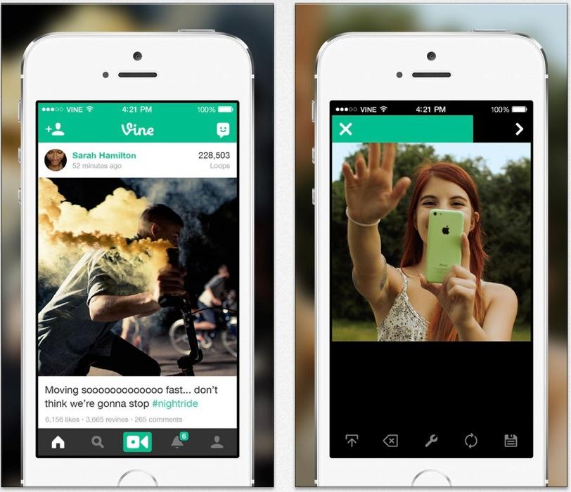 Vine、動画編集機能やカメラロールからの動画のインポートに対応するなどしたiPhone向けアプリ「Vine 2.5」リリース