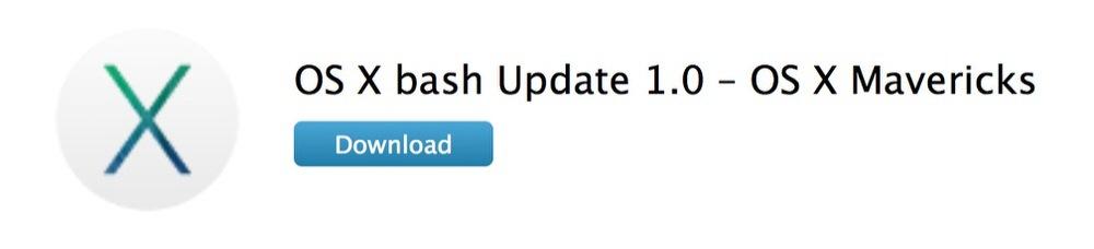 Apple、Bashの脆弱性に対応した「OS X bash Update 1.0」リリース