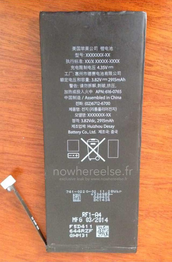 Batterie 2915mah iphone 6 air 02 1