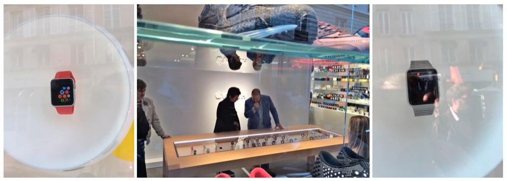 AppleとColetteによる「Apple Watch」に関するイベントのためJony Ive氏とMarc Newson氏が訪れる