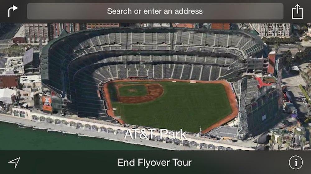 Flyover tour att park sf 1
