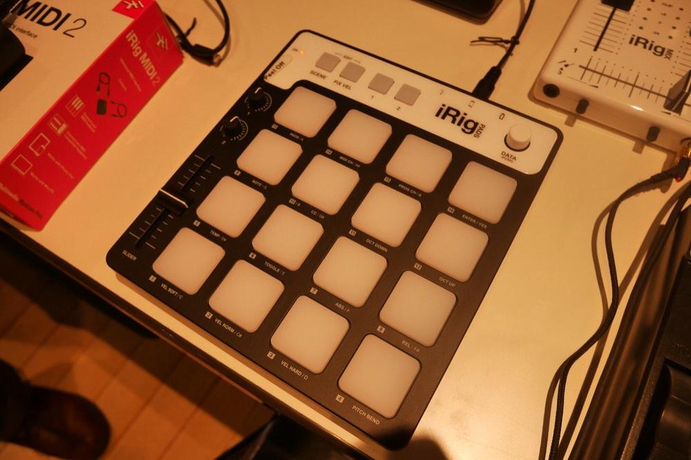 Apple Store、IK MultimediaのiOS向けパッドコントローラー「iRig Pads」を販売中