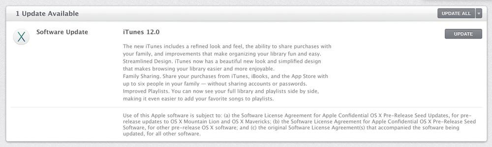 Apple、デベロッパーなどに向け「iTunes 12 beta 3」リリース