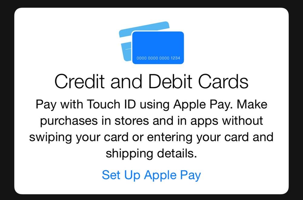 「iOS 8.1 beta 2」には「Apple Pay」のセットアップ画面が隠れていることが判明