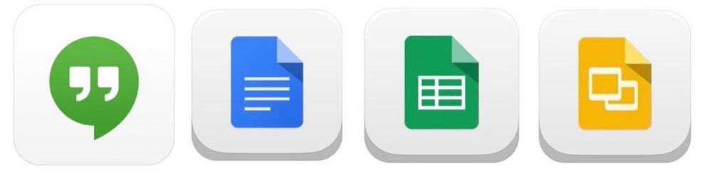 Google、iOSアプリ「ハングアウト」「Google ドキュメント」「Google スプレッドシート」「Google スライド」をそれぞれアップデート