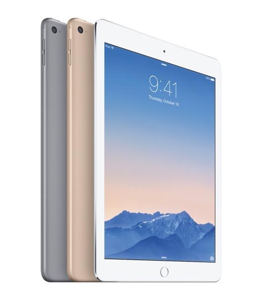 「iPad Air 2」の製造コストは「iPad Air」と同程度で利益率は若干低い!?