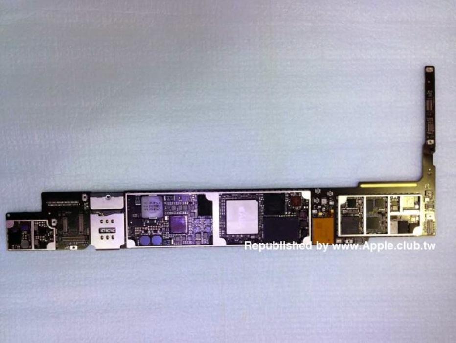 「iPad Air(第2世代)」のものとされるロジックボードやTouch IDケーブルなどのパーツ画像がリークされる!?