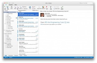 Microsoft、新しい「Outlook for Mac」を発表
