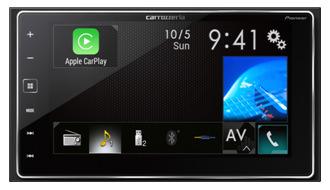 パイオニア、AppleのCarPlayに対応したカロッツェリアのAVメインユニット「SPH-DA700」を10月中旬に発売