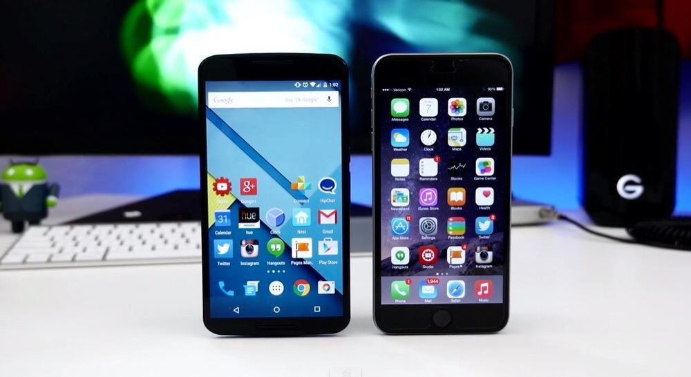 スマートフォン市場のシェアはAndroidとiOSで98.4%のシェアを占める(2015年第4四半期)