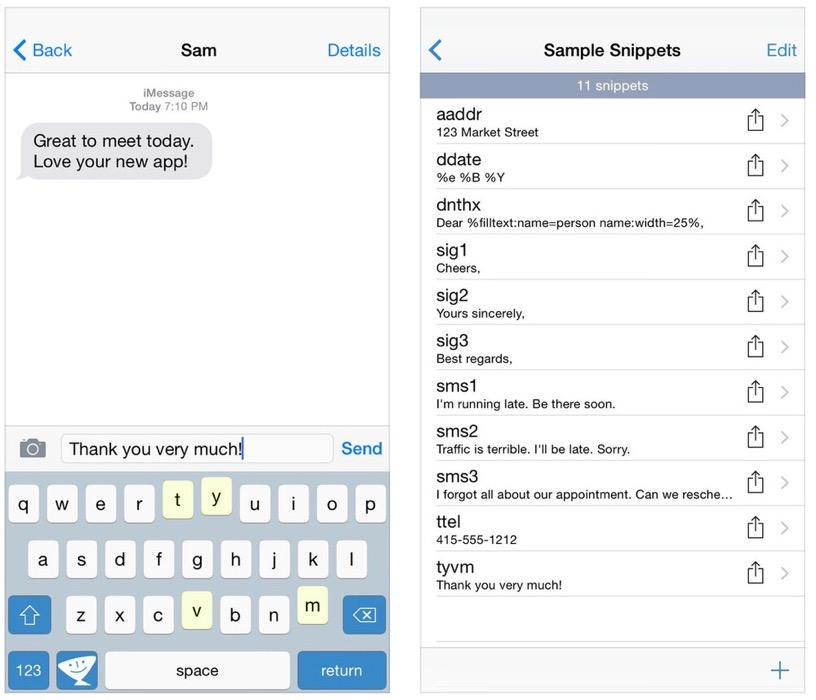 文字入力支援アプリ「TextExpander 3」が500円 → 100円に値下げ中!【2014年11月28日版】アプリ新作・値下げ情報