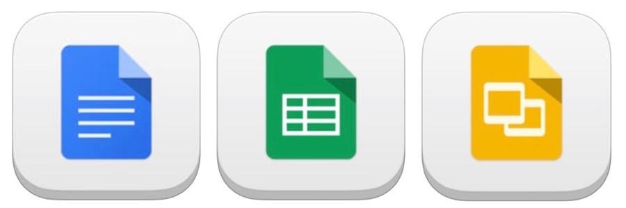 Google、いくつかの機能を追加したiOSアプリ「Google ドキュメント」「Google スプレッドシート」「Google スライド」の最新版をリリース