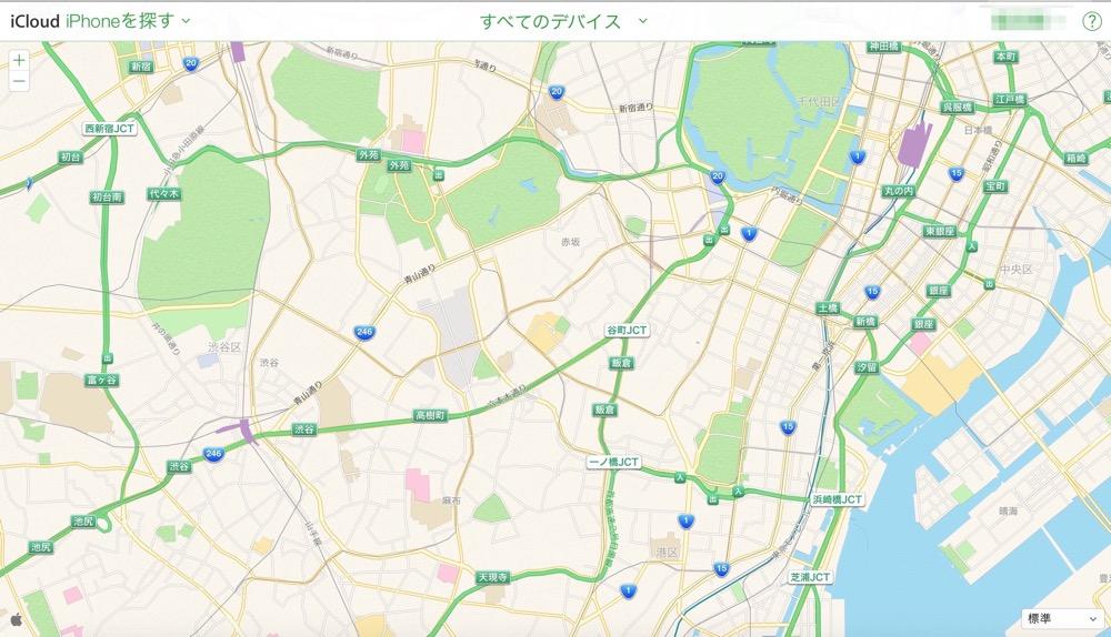Apple、iCloud.comの「iPhoneを探す」で使われているマップをGoogleマップからApple純正マップに変更