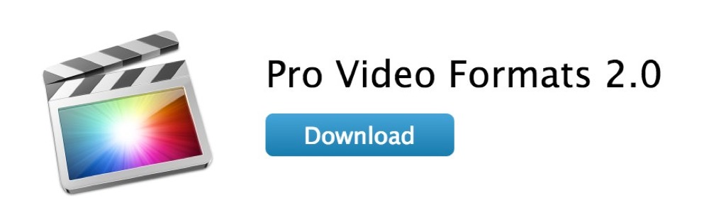 Apple、「Pro Video Formats 2.0」リリース