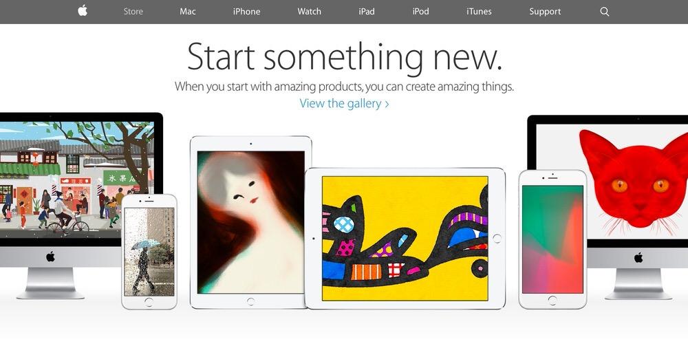 Apple、アメリカなどでも新しいキャンペーン「Start Something New(新しい何かを始めよう。)」を開始