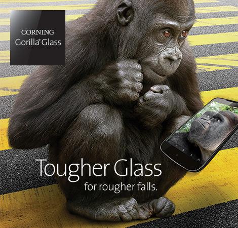 コーニング、サファイアガラスと同様に傷がつきにくい新しいタイプのガラスを開発中!?