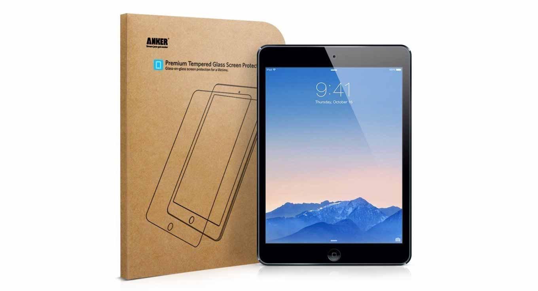 Anker Japan、 iPad Air / iPad Air 2用「Anker 強化ガラス液晶保護フィルム」の販売を開始