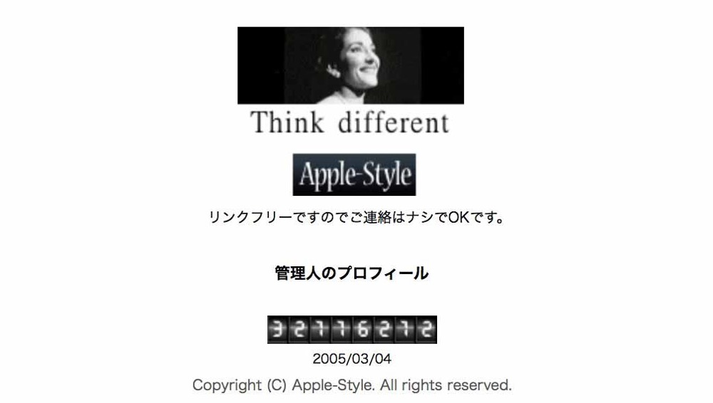Applestyle
