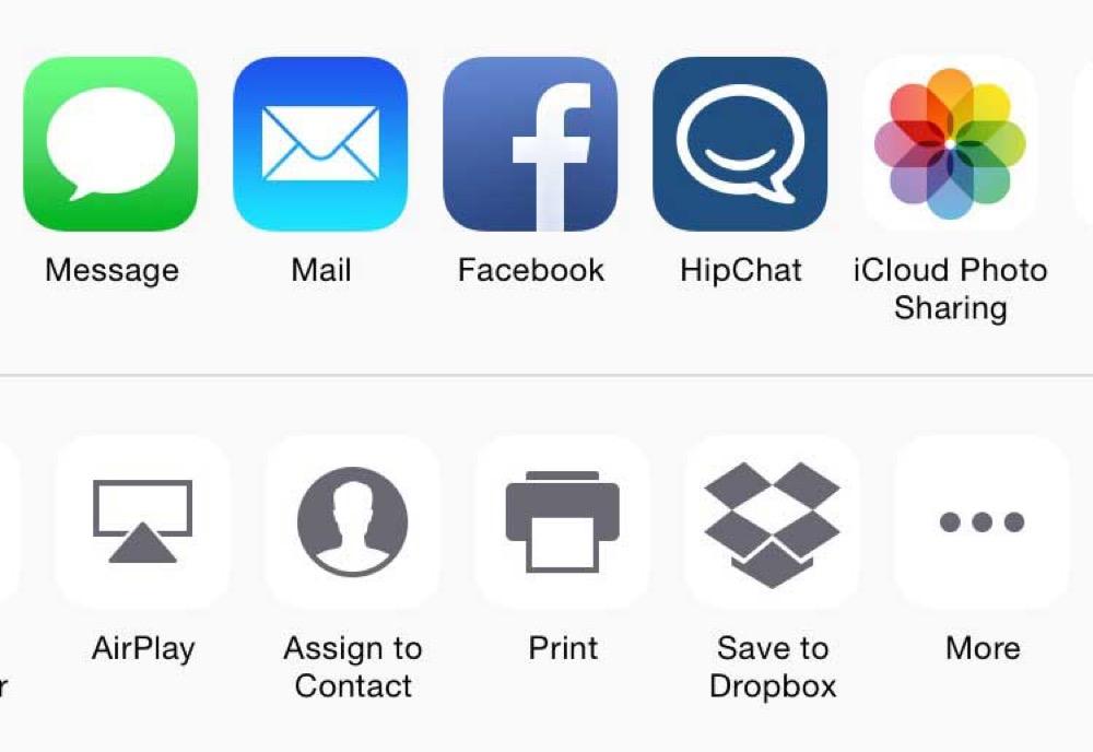 「iOS 8.3 beta 4」からTwitterの共有機能がなくなっていることが判明