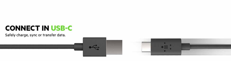 Belkin、「USB-C to Gigabit Ethernet Adapter」などUSB-Cケーブルやアダプタを発表