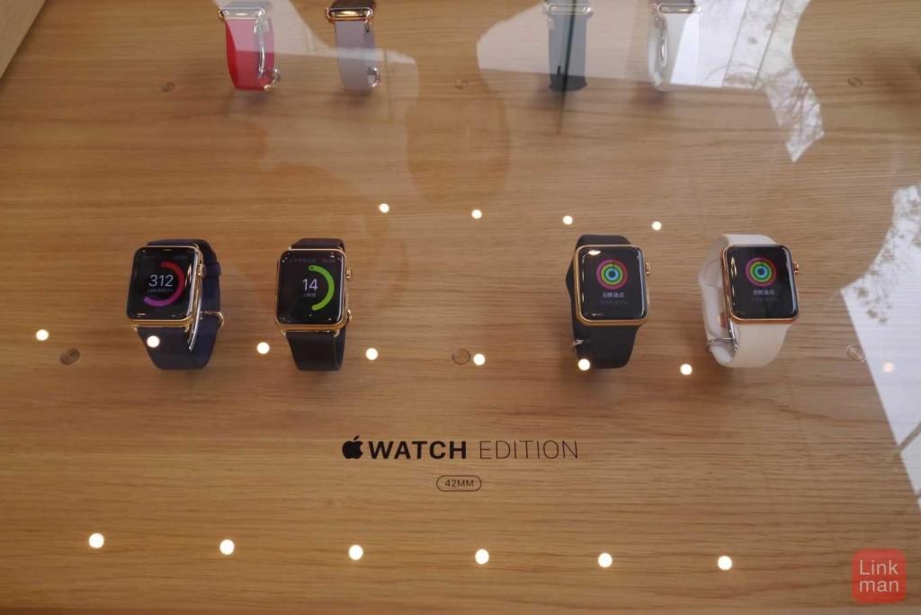 Apple Watch、各モデルの質感の違いが出るデジタルクラウン部分