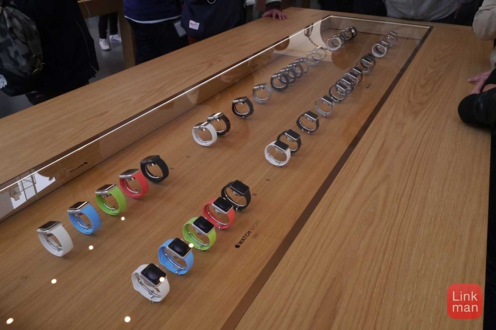 「Apple Store, Omotesando」で「Apple Watch」をチェックしてきた!