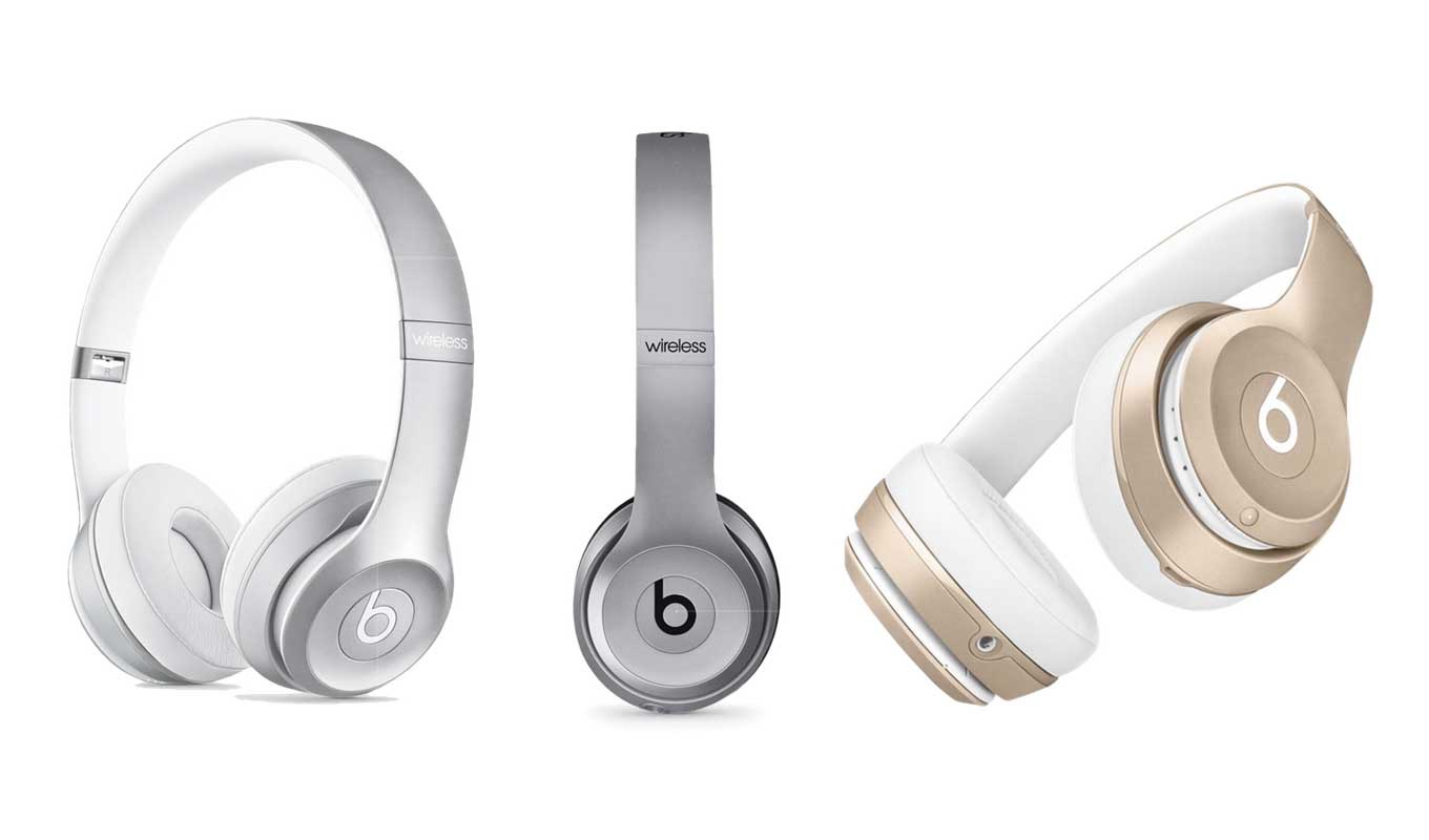 Apple Store、「Beats by Dr. Dre Solo2 ワイヤレスオンイヤーヘッドフォン」の新色の販売を開始