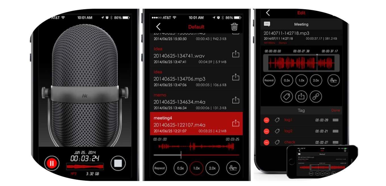 高機能ボイスレコーダーアプリ「Awesome Voice Recorder Pro」が600円 → 240円に値下げ中!【2015年5月24日版】アプリ新作・値下げ情報