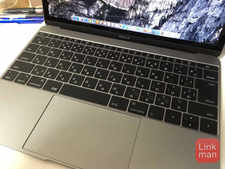 【レビュー】12インチ「MacBook」のキーボードの使い心地