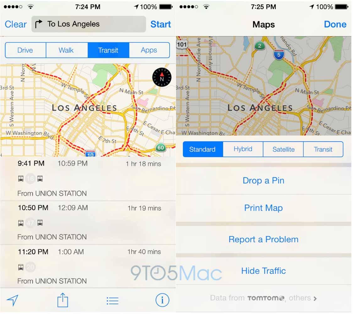 「iOS 9」で搭載されるマップアプリの乗換案内サービスはまず北米・欧州・中国の一部の都市のみでサービス提供か!?