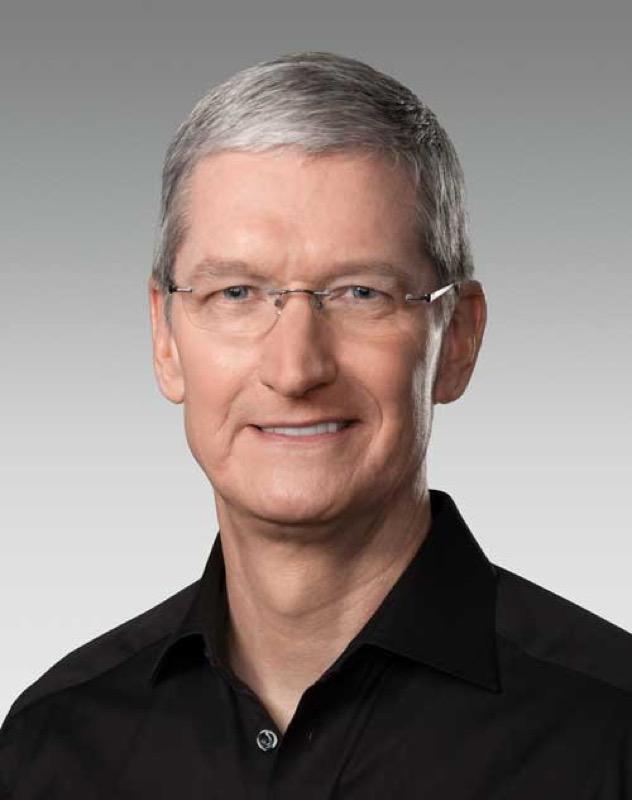 Tim Cook CEO、Appleの50,000株(約8億円相当)を寄付をしたことが明らかに