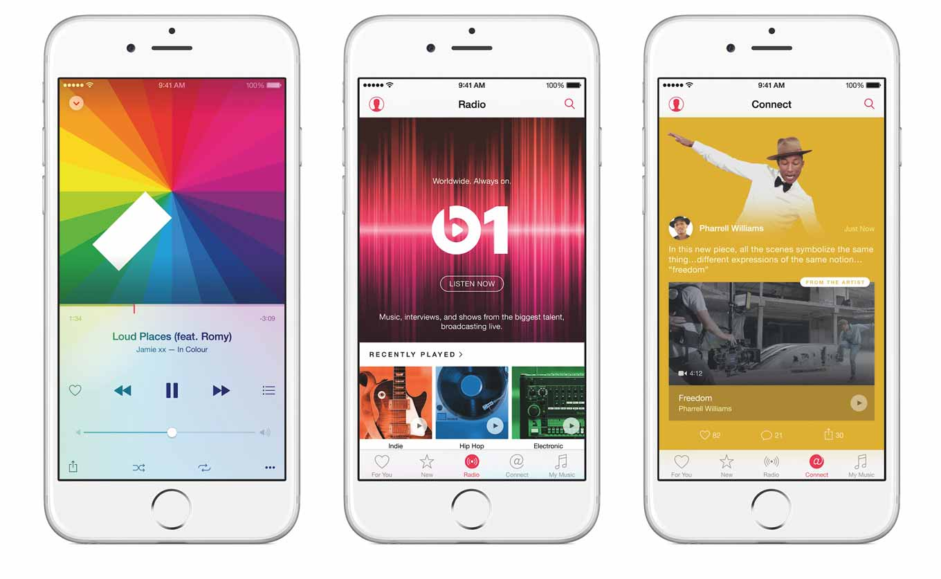Apple、Apple MusicのTVCM「History of Sound」と「Beats 1」を日本で公開