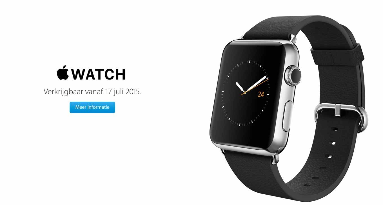 Apple、「Apple Watch」を7月17日からオランダ、スウェーデン、タイで販売を開始へ