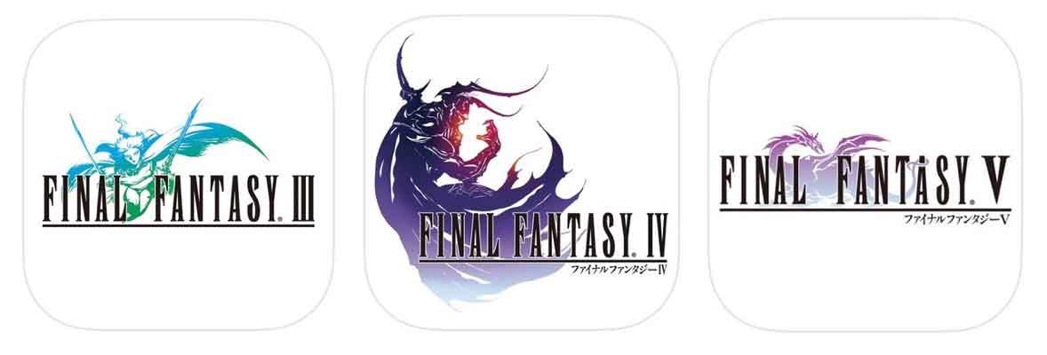 「FINAL FANTASY III・IV・V」がそれぞれ1,800円 → 840円に値下げ中!【2015年6月17日版】アプリ新作・値下げ情報