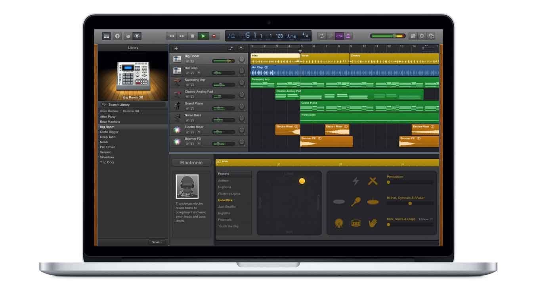 Apple、Mac向けアプリ「GarageBand 10.1.5」リリース