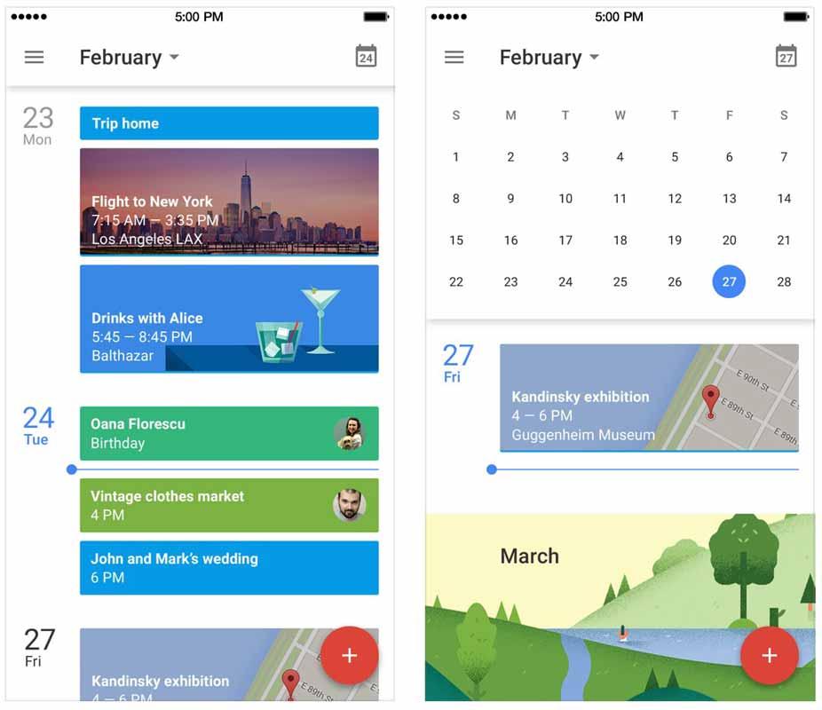 Google、iPhone向けアプリ「Googleカレンダー 1.2.0」リリース 3D Touchを使って予定などを作成できるようなるなど