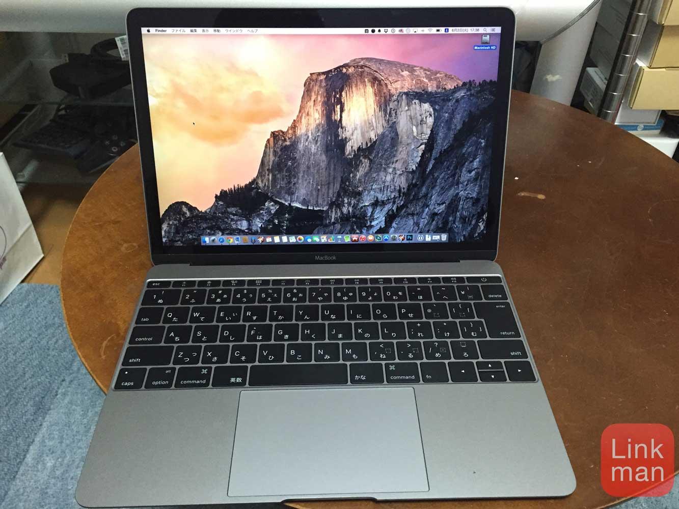 ファンレスの12インチ「MacBook(Early 2015)」は熱くなるか!? - エントリーモデルの場合