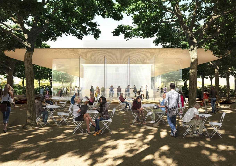 Apple、新社屋「Apple Park」に併設される「Visitor Center」を11月17日にオープンへ