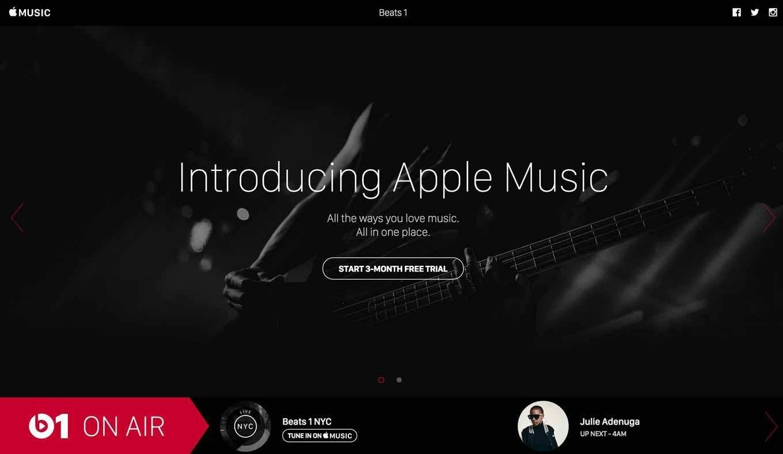 Apple、「Apple Music」の公式Tumblrページで「Beats 1」の放送スケジュールを公開