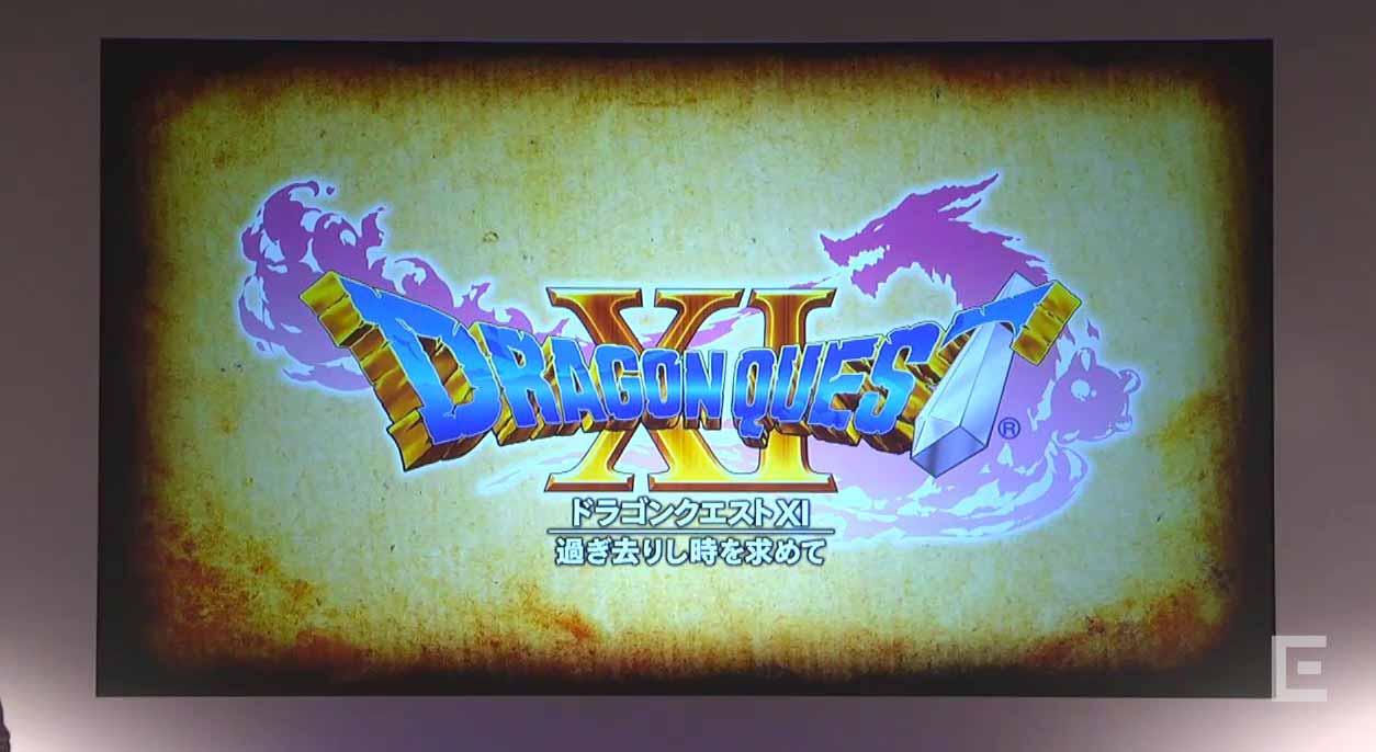 スクウェア・エニックス、「ドラゴンクエスト XI 過ぎ去りし時を求めて」を発表 – PS4・ニンテンドー3DS・NXで発売へ