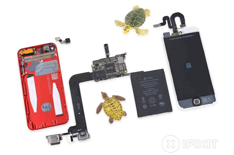iFixit、「iPod touch(第6世代)」のバラシレポートを公開